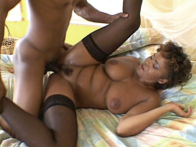 Cum Covered ebony